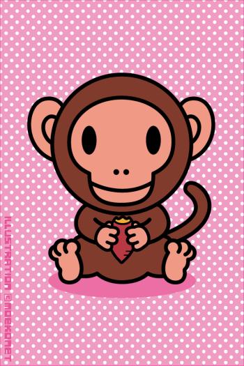 猿イラスト