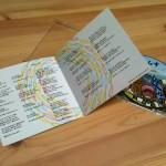 歌詞カードCD盤面デザイン