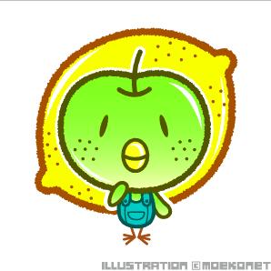 果物キャラクター