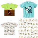 販売中の動物イラストTシャツ