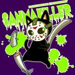黒猫ジェイソン/ホラーパーカー
